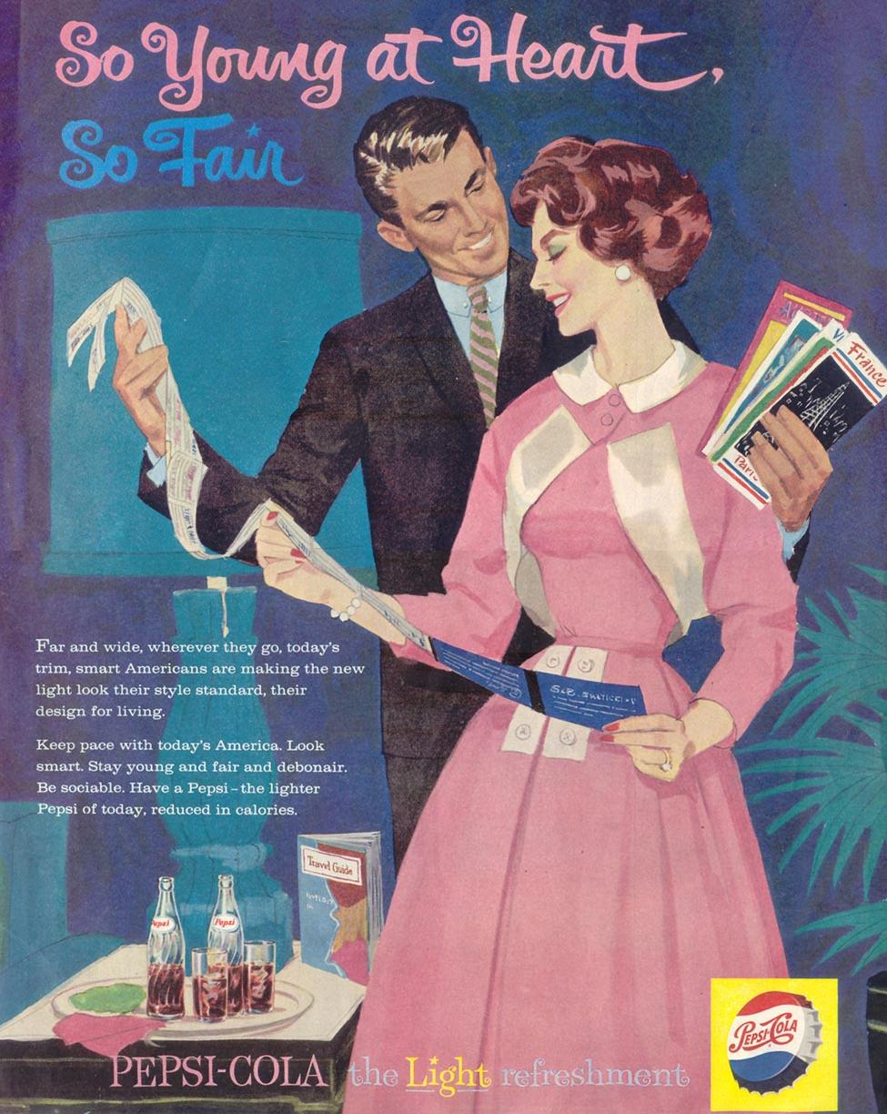 PEPSI-COLA SATURDAY EVENING POST 05/02/1959 p. 119