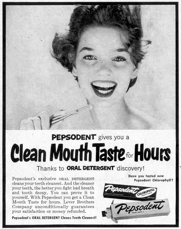 PEPSODENT TOOTHPASTE LIFE 09/07/1953 p. 116