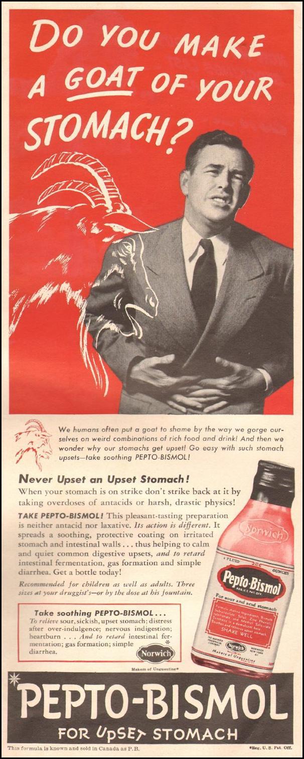 PEPTO-BISMOL LIFE 06/22/1942 p. 91