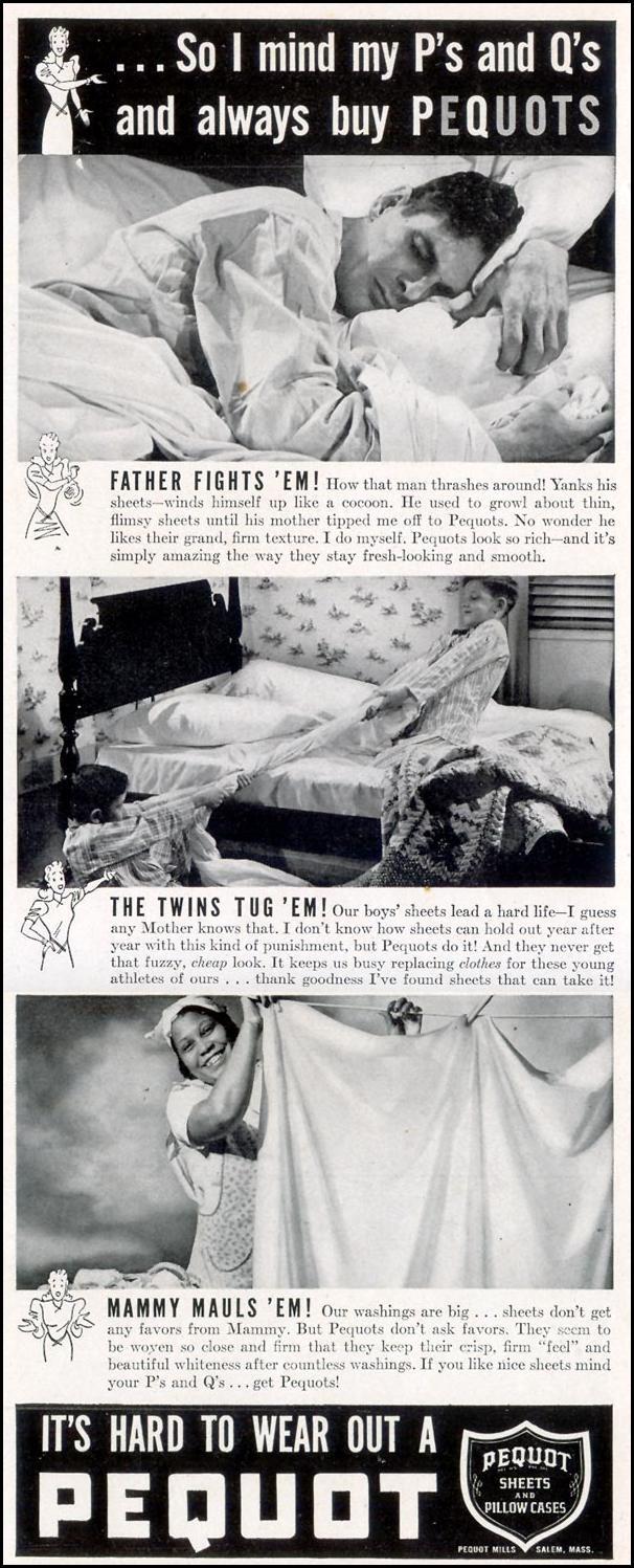 PEQUOT LINENS LIFE 09/30/1940 p. 7