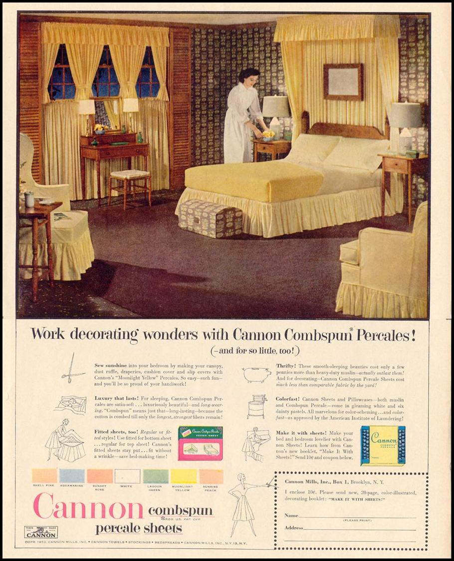 CANNON SHEETS LIFE 10/13/1952 p. 113