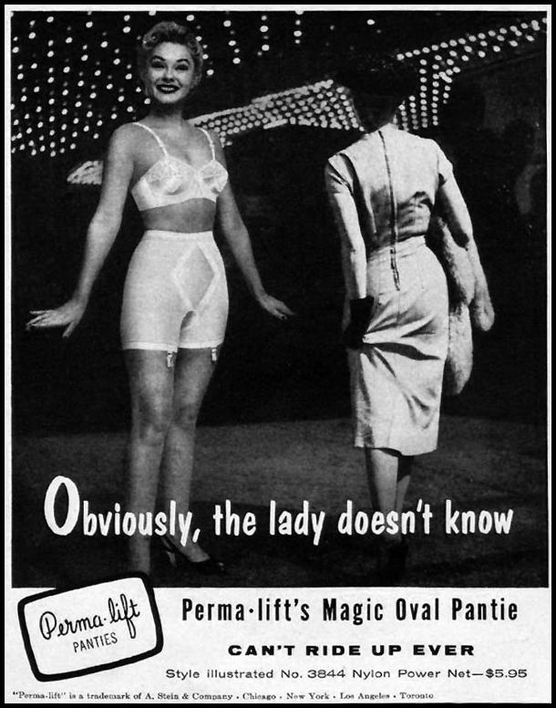 PERMA-LIFT MAGIC OVAL PANTY LIFE 09/09/1957 p. 78