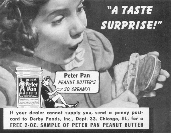 PETER PAN PEANUT BUTTER WOMAN'S DAY 05/01/1941 p. 73