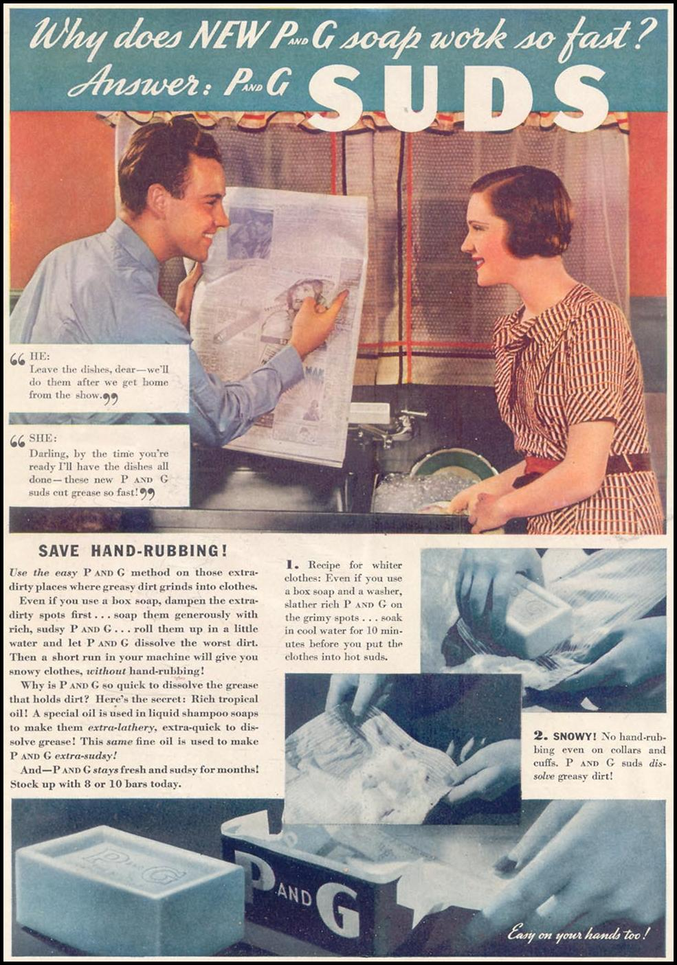P AND G SOAP GOOD HOUSEKEEPING 03/01/1935