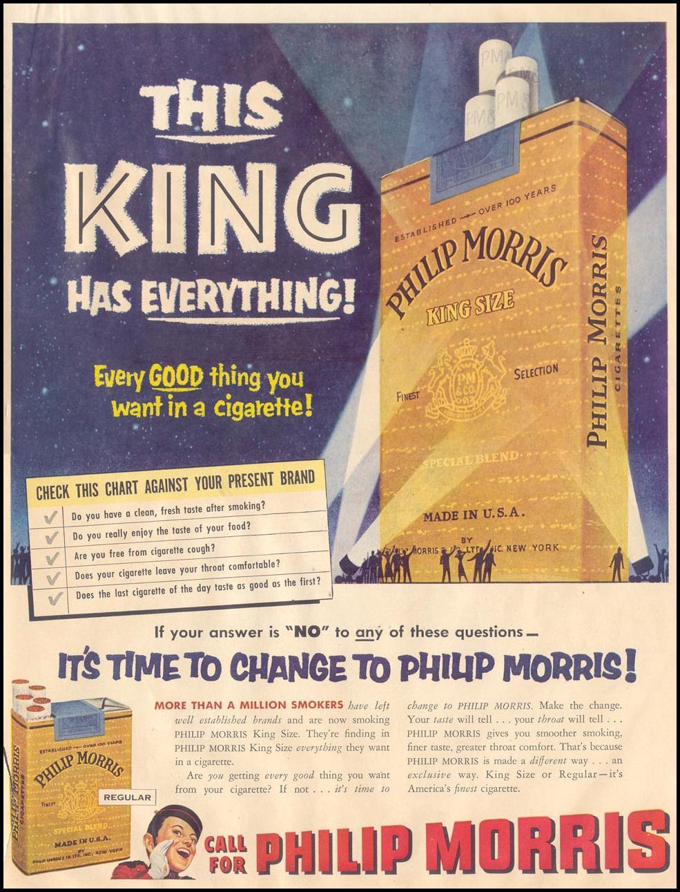 PHILIP MORRIS CIGARETTES LIFE 08/17/1953 p. 93