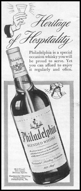 PHILADELPHIA BLENDED WHISKEY