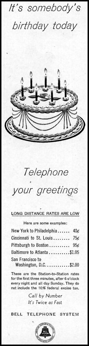 TELEPHONE SERVICE SATURDAY EVENING POST 06/04/1955 p. 98