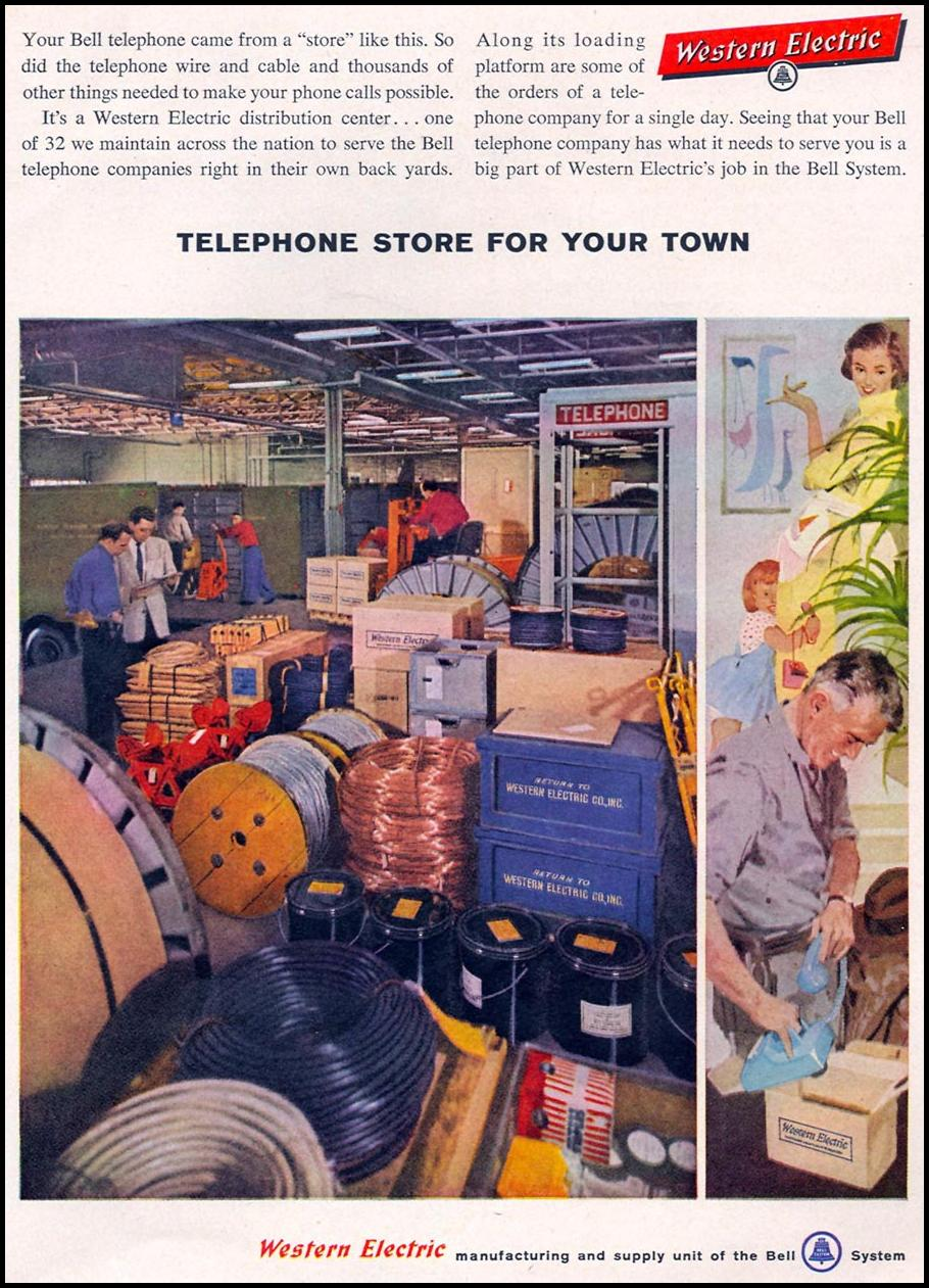 TELEPHONE EQUIPMENT TIME 05/05/1958 p. 43