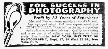 PHOTOGRAPHY CORRESPONDENCE COURSE LIFE 05/24/1943 p. 100