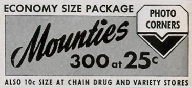 MOUNTIES PHOTO CORNERS LIFE 04/13/1953 p. 20