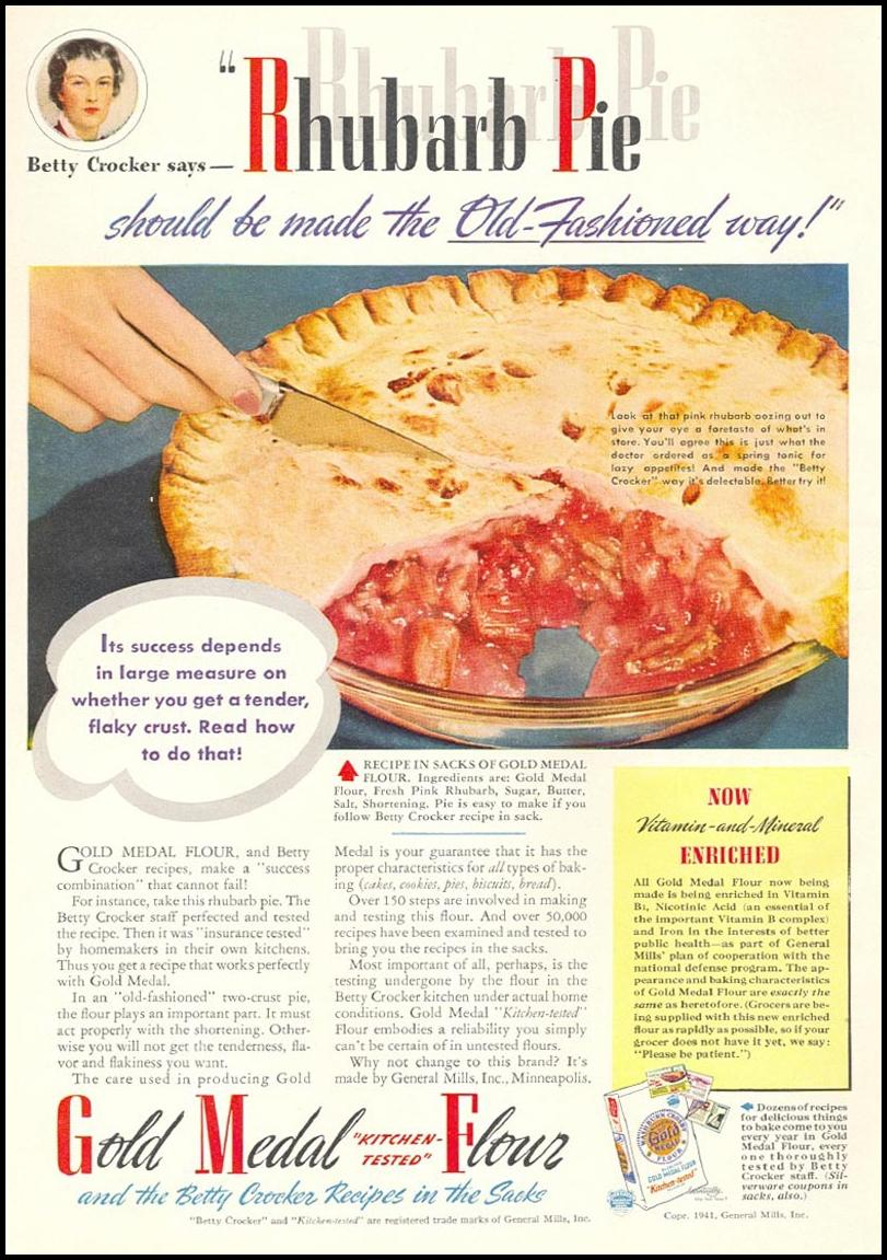 GOLD MEDAL KITCHEN-TESTED FLOUR WOMAN'S DAY 05/01/1941
