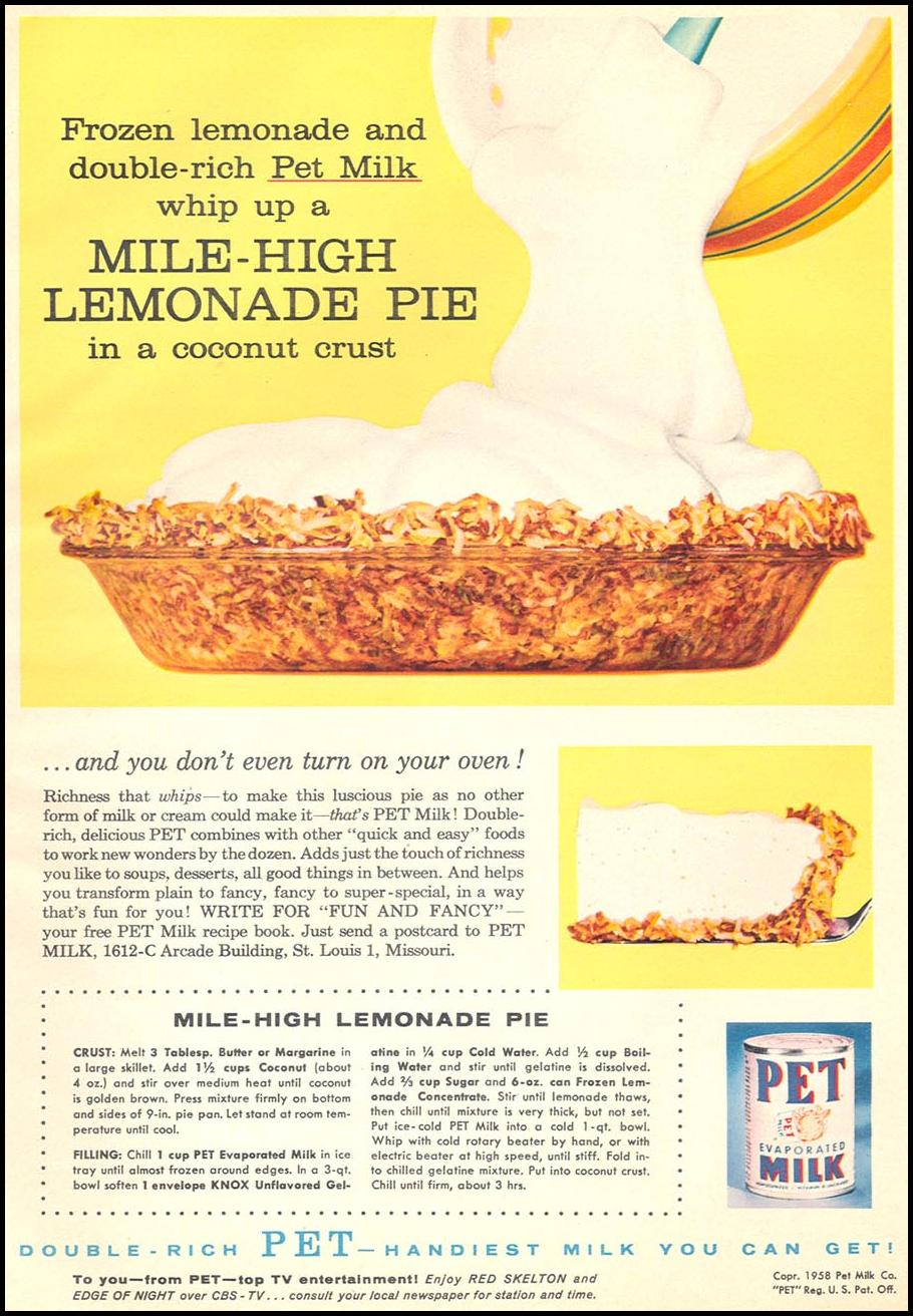PET EVAPORATED MILK WOMAN'S DAY 06/01/1958 p. 79
