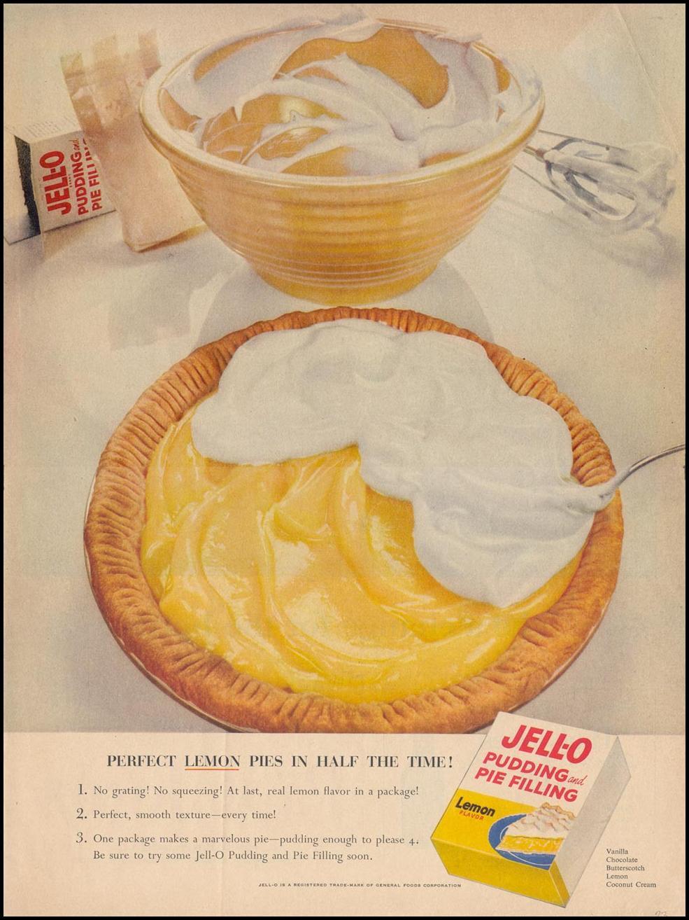 JELL-O PUDDING LIFE 07/12/1954 p. 23