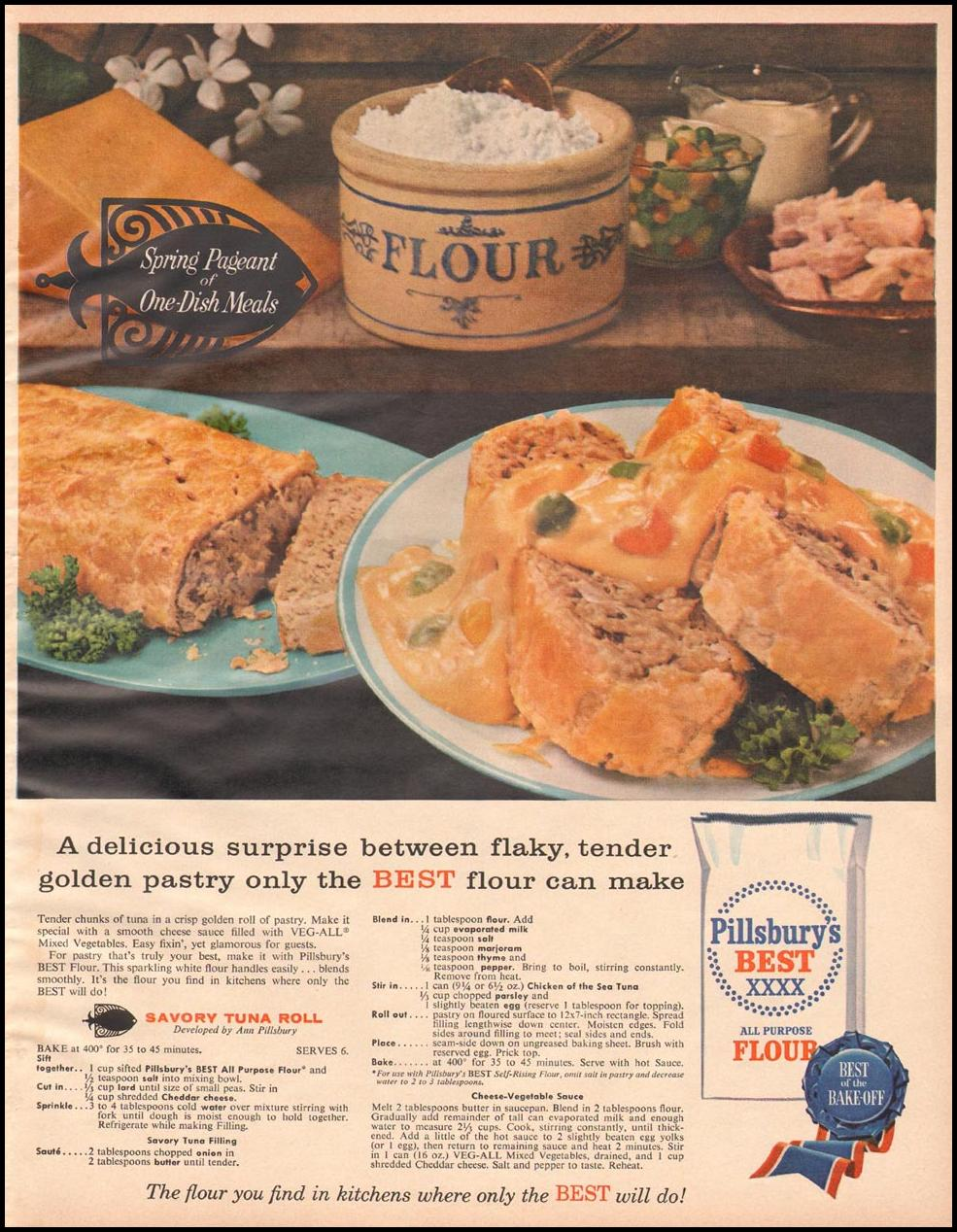 PILLSBURY'S BEST FLOUR BETTER HOMES AND GARDENS 03/01/1960 p. 113