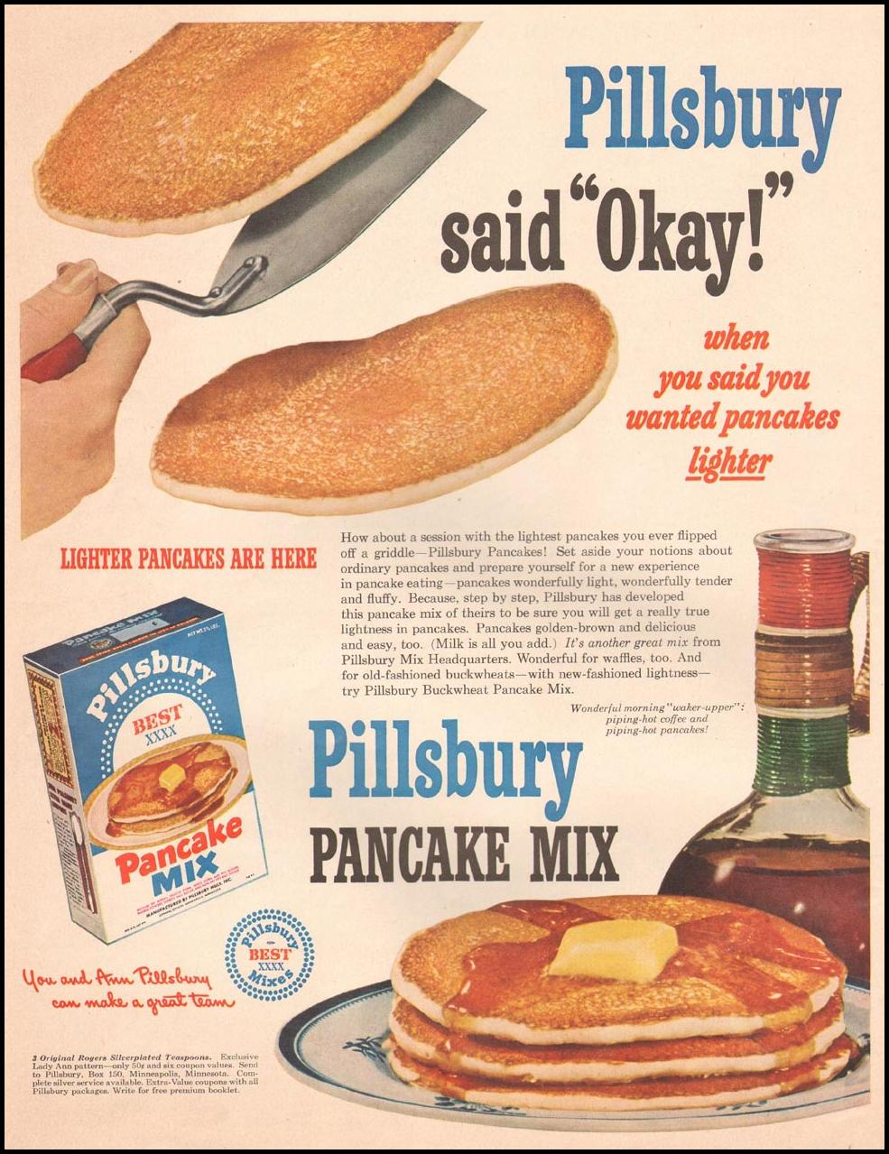 PILLSBURY PANCAKE MIX LIFE 04/30/1951 p. 110
