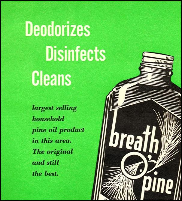 BREATH O' PINE WOMAN'S DAY 04/01/1956 p. 130