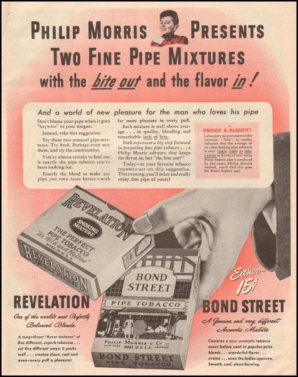 BOND STREET PIPE TOBACCO LIFE 03/12/1945 p. 7