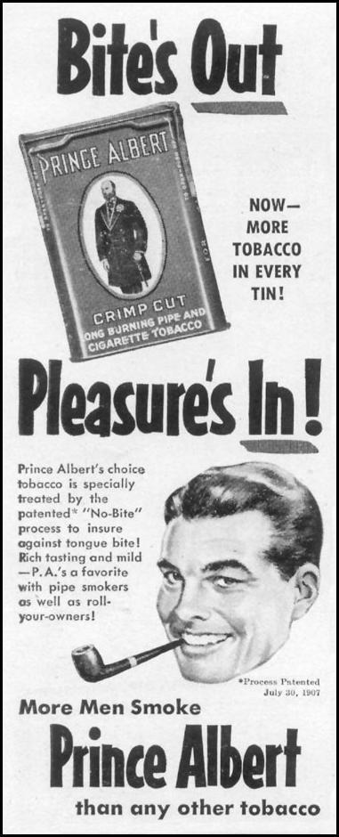 PRINCE ALBERT PIPE TOBACCO LIFE 06/16/1952 p. 100