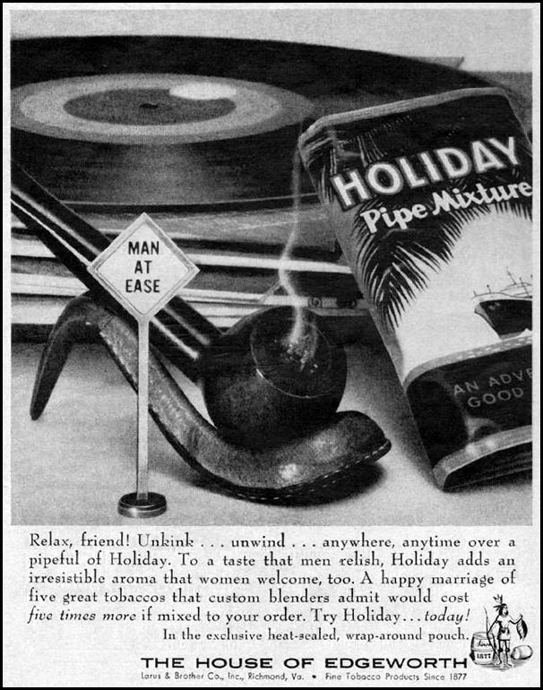 HOLIDAY PIPE MIXTURE LIFE 09/15/1958 p. 80