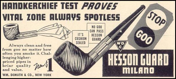 HESSON GUARD MILANO PIPE LIFE 09/30/1940 p. 90