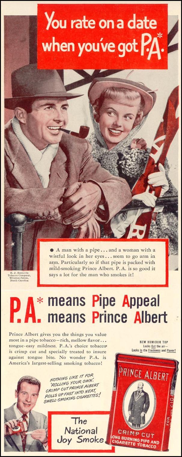 PRINCE ALBERT PIPE TOBACCO LIFE 11/15/1948 p. 10