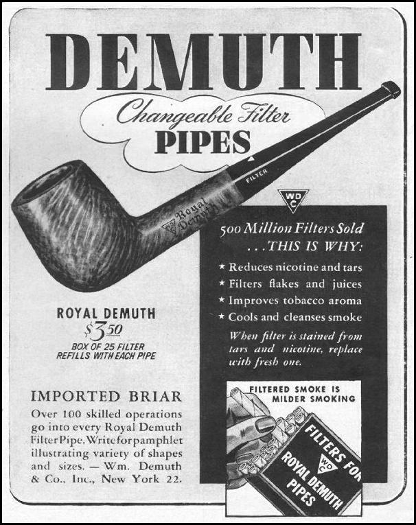 ROYAL DEMUTH PIPES LIFE 11/25/1942 p. 129