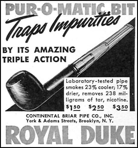 ROYAL DUKE PIPES TIME 11/02/1942 p. 102