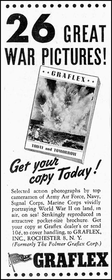 PHOTOGRAPHIC BROCHURE SATURDAY EVENING POST 10/06/1945 p. 81