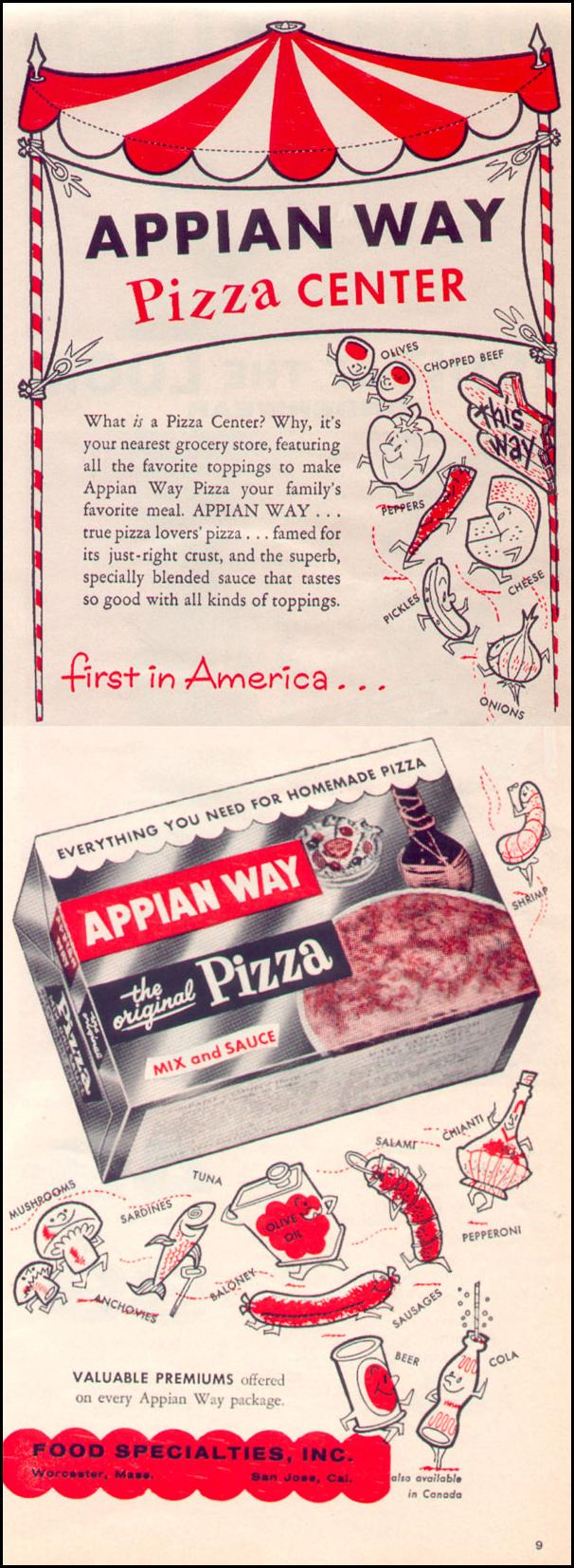 APPIAN WAY PIZZA MIX LIFE 02/09/1959 p. 90