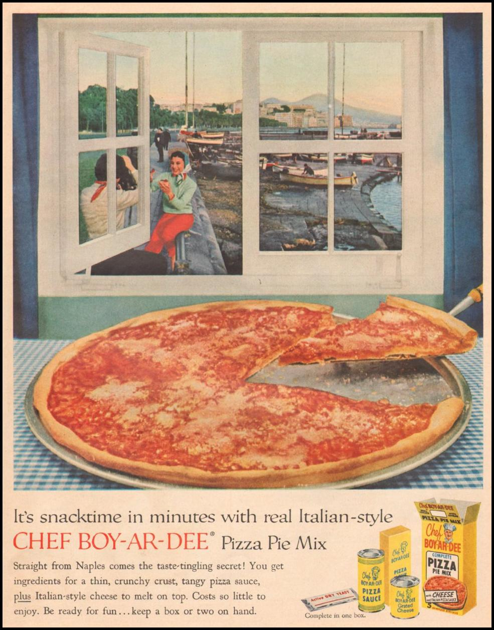 BOY-AR-DEE PIZZA PIE MIX LIFE 05/19/1958