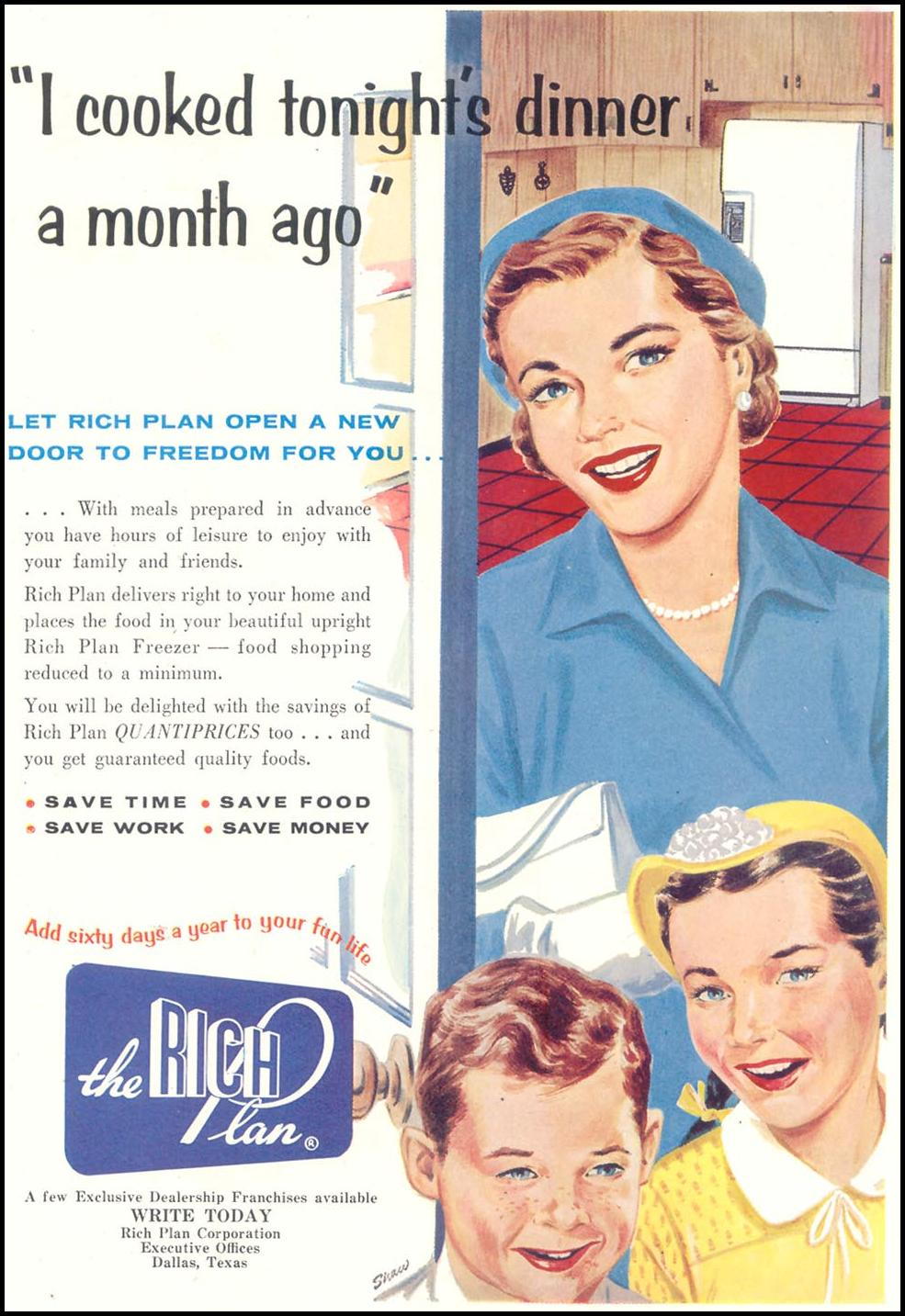 THE RICH PLAN SATURDAY EVENING POST 09/03/1955 p. 61