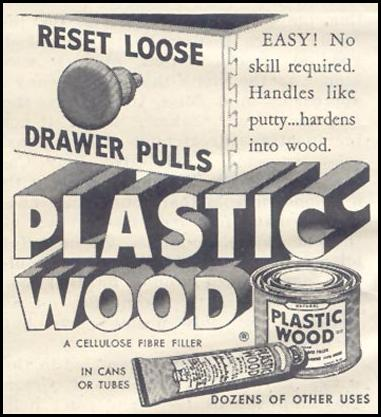 PLASTIC WOOD GOOD HOUSEKEEPING 07/01/1948 p. 174