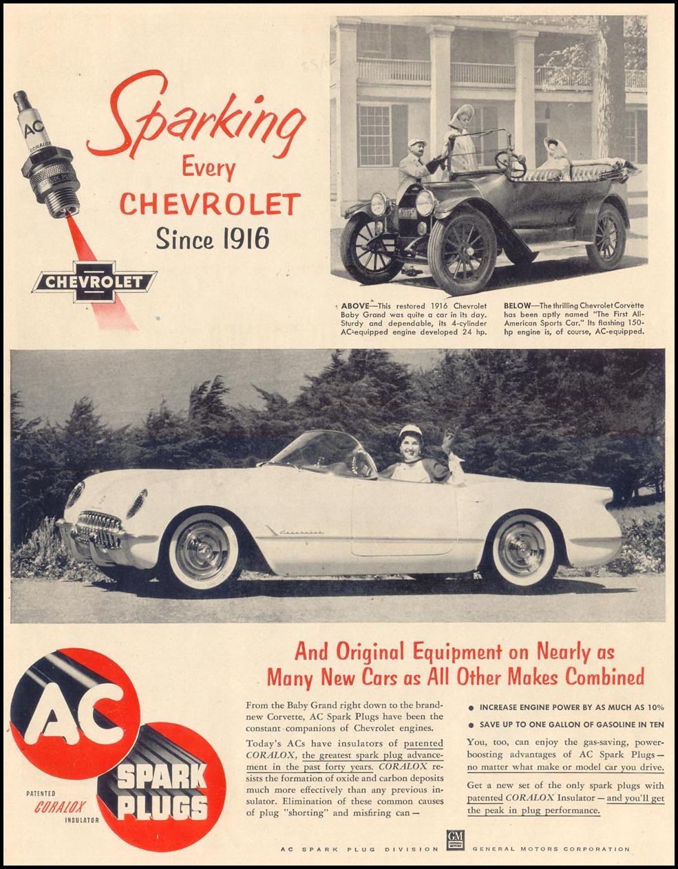 AC SPARK PLUGS LIFE 11/30/1953 p. 72