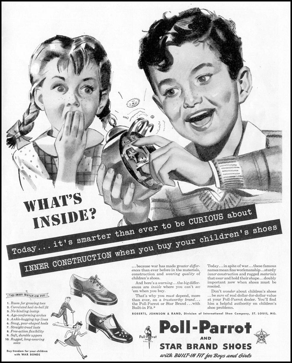 POLL-PARROT SHOES LIFE 02/28/1944 p. 91
