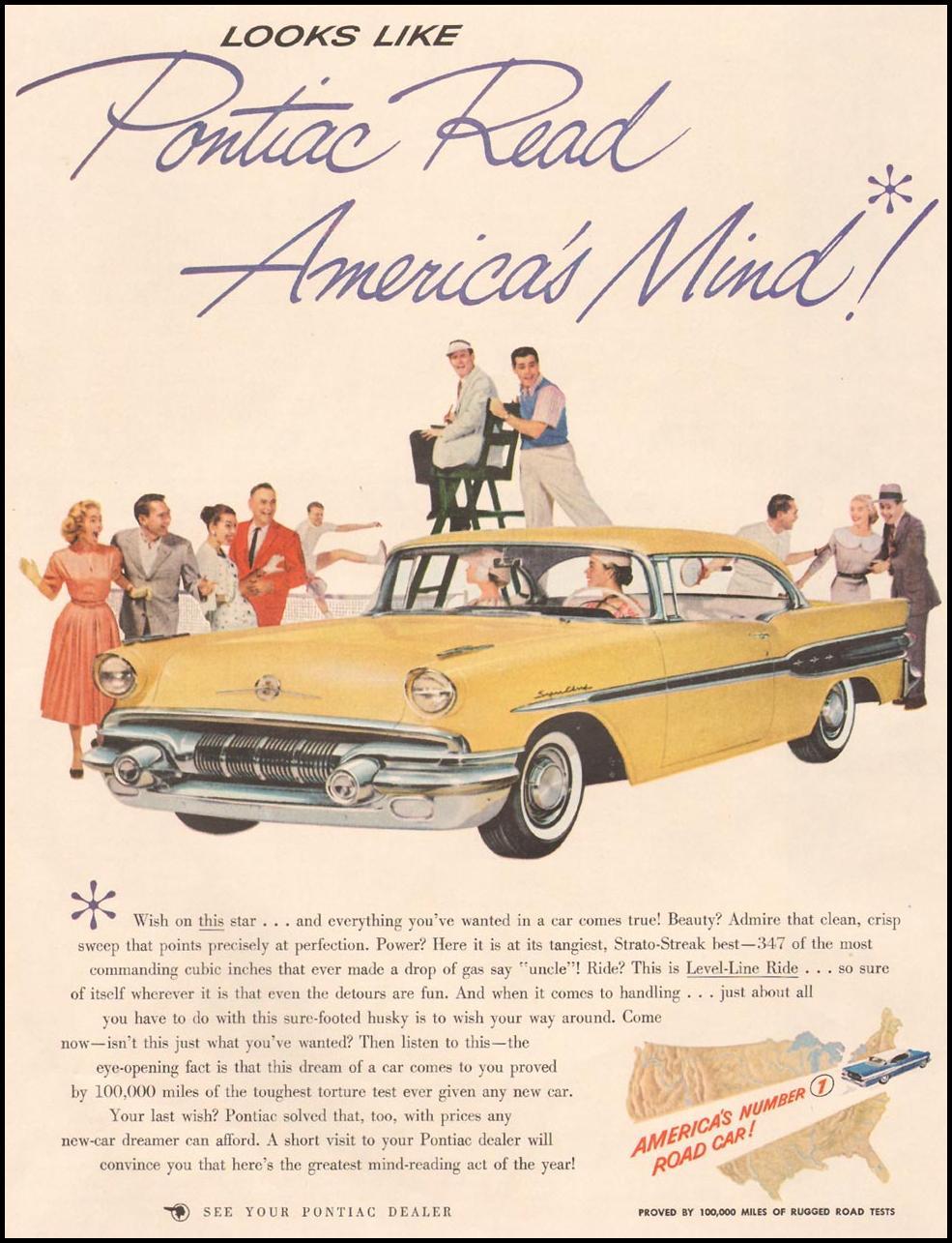 PONTIAC AUTOMOBILES LIFE 04/01/1957 p. 42