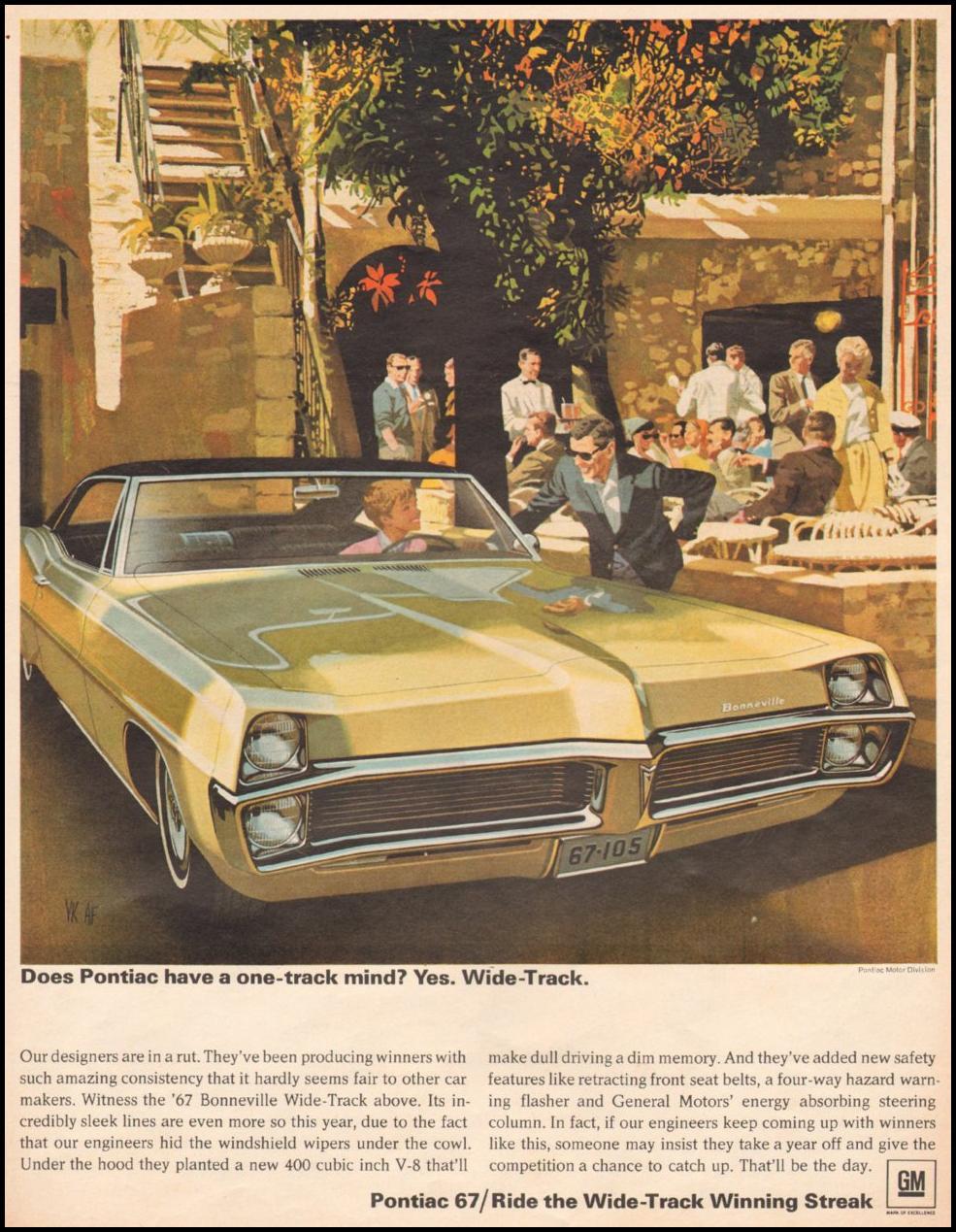 PONTIAC AUTOMOBILES LIFE 11/04/1966