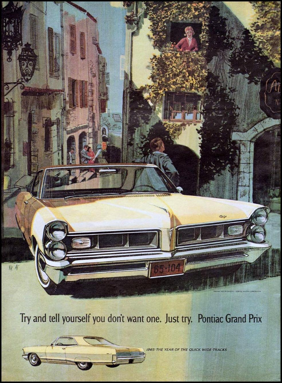 PONTIAC AUTOMOBILES NEWSWEEK 10/12/1964