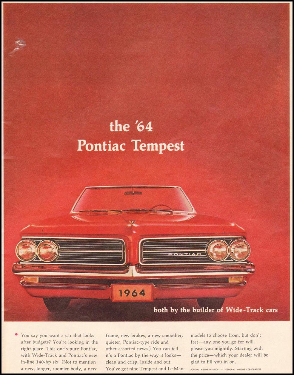 PONTIAC AUTOMOBILES TIME 10/04/1963 p. 25
