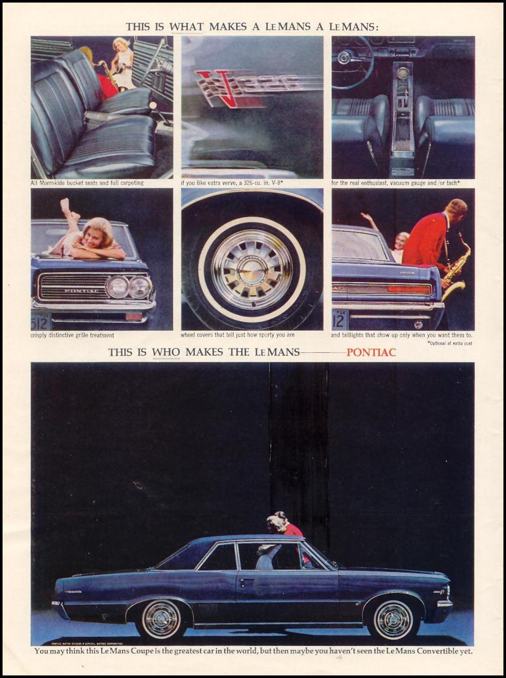 PONTIAC AUTOMOBILES TIME 10/25/1963 p. 20