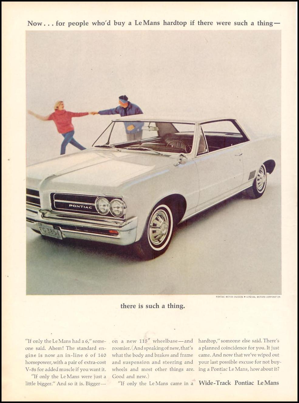 PONTIAC AUTOMOBILES TIME 12/06/1963 p. 22