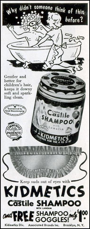 KIDMETICS CASTILE SHAMPOO LIFE 04/13/1953 p. 20