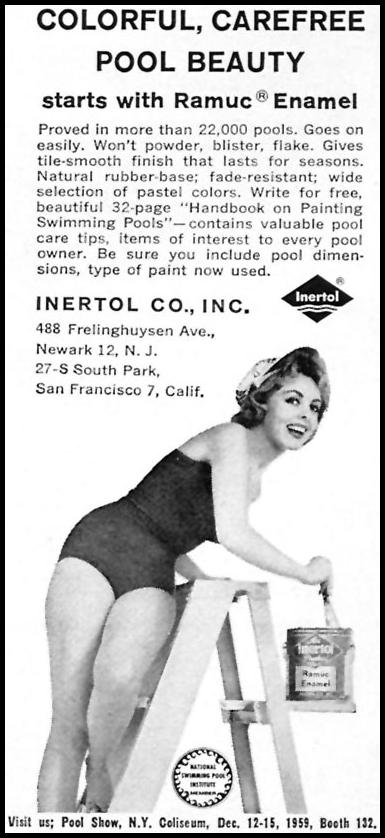 RAMUC ENAMEL PAINT SPORTS ILLUSTRATED 05/11/1959 p. 85