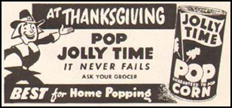 JOLLY TIME POPCORN LADIES' HOME JOURNAL 11/01/1950 p. 161