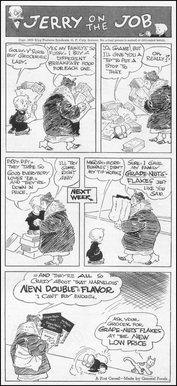 POST GRAPE-NUTS FLAKES WOMAN'S DAY 04/01/1939 p. 43