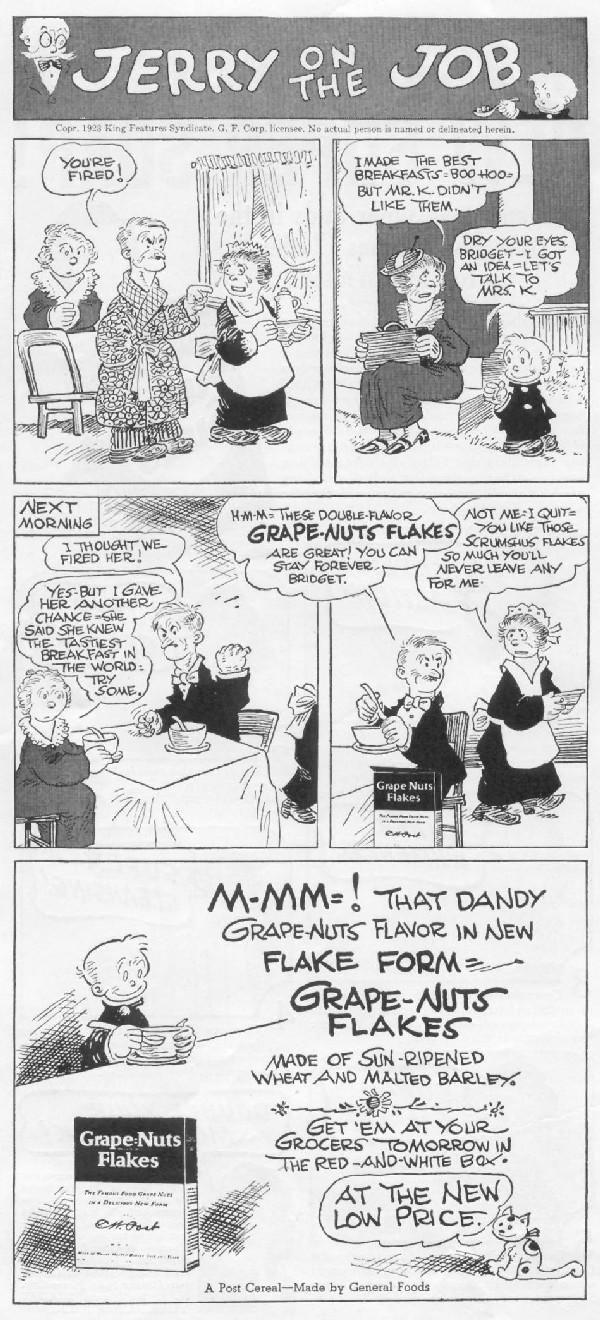 POST GRAPE-NUTS FLAKES WOMAN'S DAY 06/01/1939 p. 2