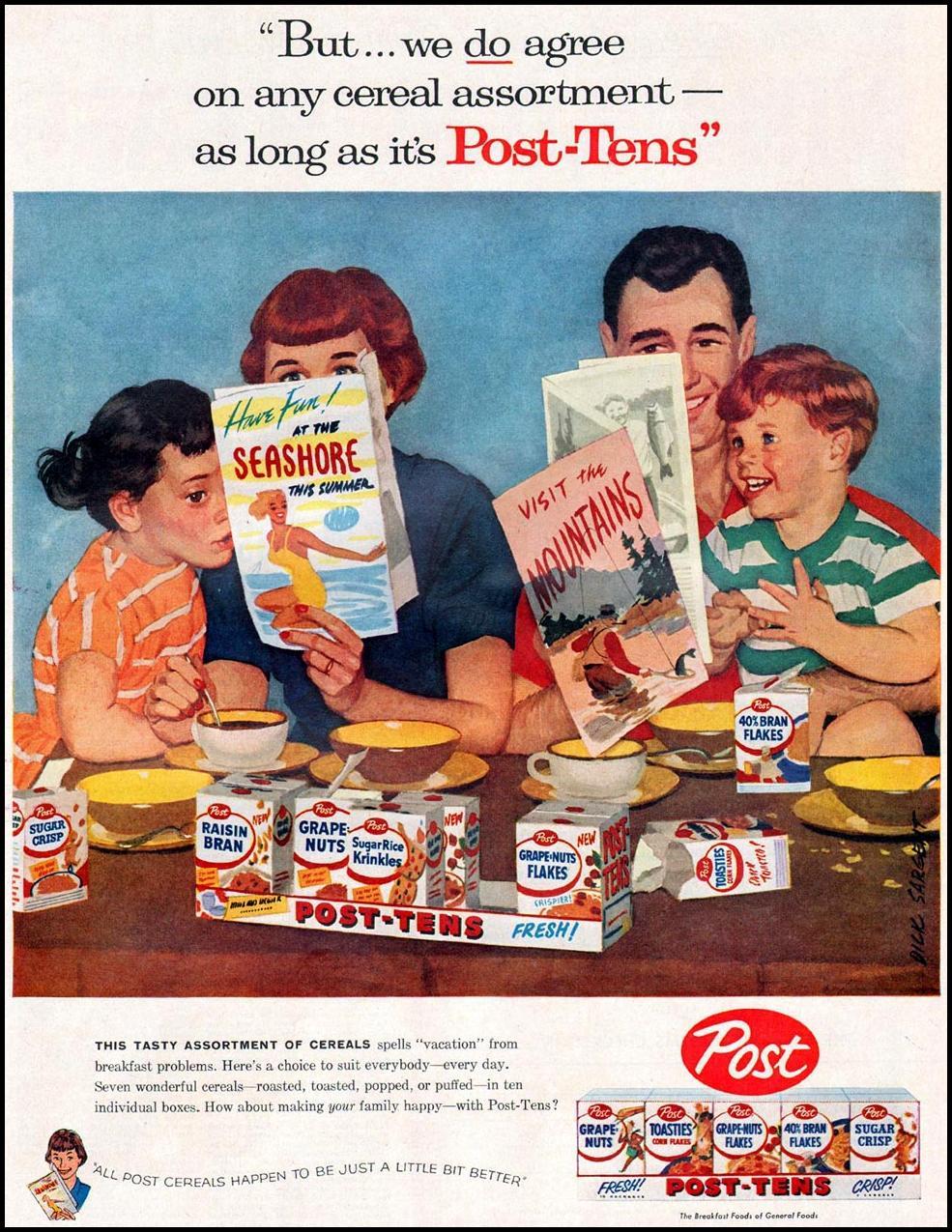 POST CEREALS LIFE 07/01/1957 p. 45
