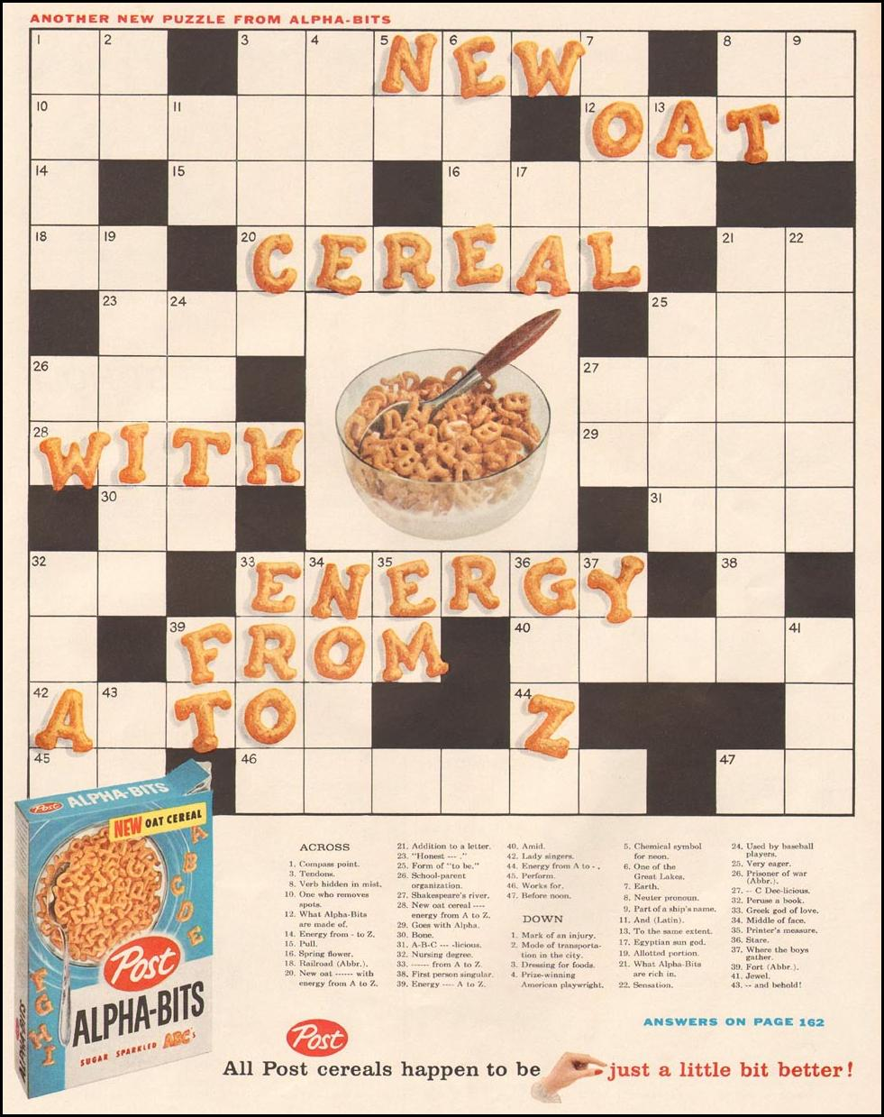 POST ALPHA-BITS CEREAL LIFE 10/05/1959 p. 65