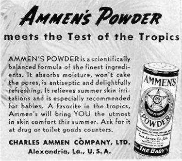 AMMEN'S MEDICATED POWDER LIFE 06/23/1941 p. 44