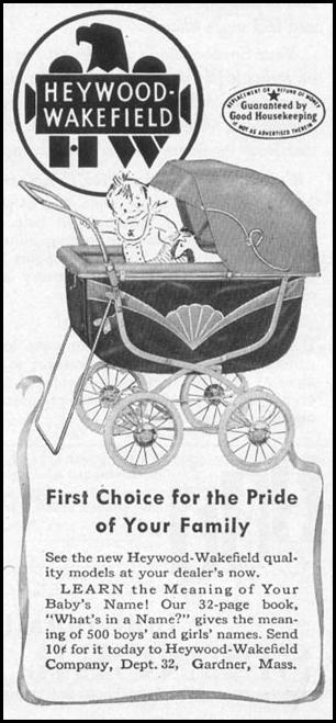 BABY CARRIAGES WOMAN'S DAY 10/01/1949 p. 92