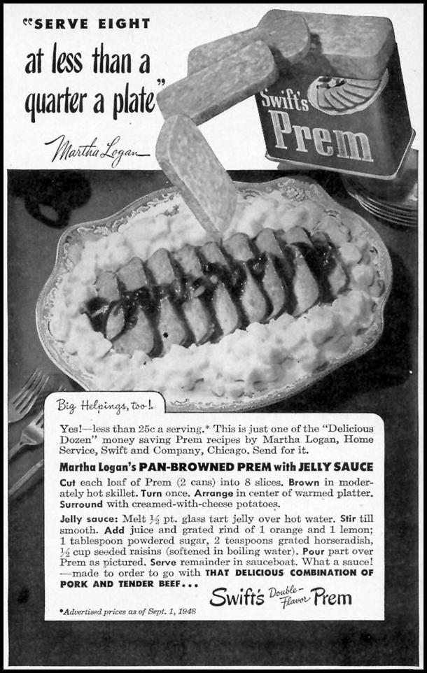 SWIFT'S PREM WOMAN'S DAY 11/01/1948 p. 117